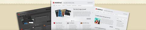 Thumbnail Download Minimal WordPress Theme