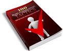 Thumbnail Download 100 Blog Commenting Tactics Ebook With PLR