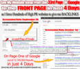 Thumbnail Build 1000s of Backlinks & Rank Top on Google in 4 Days