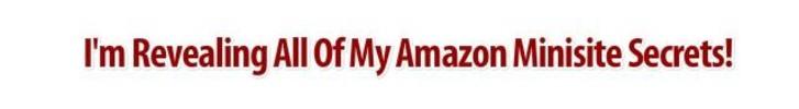 Thumbnail Make Mega Profits From Amazon Minisite