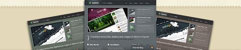Thumbnail Download Lumin WordPress Theme