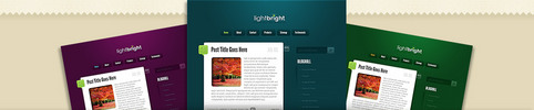 Thumbnail Download LightBright WordPress Theme
