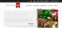 Thumbnail Download DelicateNews WordPress Theme