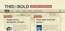 Thumbnail Download Bold WordPress Theme
