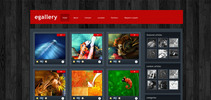 Thumbnail Download eGallery WordPress Theme
