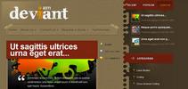 Thumbnail Download Deviant WordPress Theme