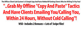 Thumbnail Copy And Paste System That Lets You Acquire Clients Without