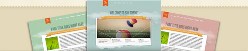 Pay for Download Sky WordPress Theme