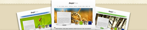 Pay for Download SimplePress Simple WordPress Theme
