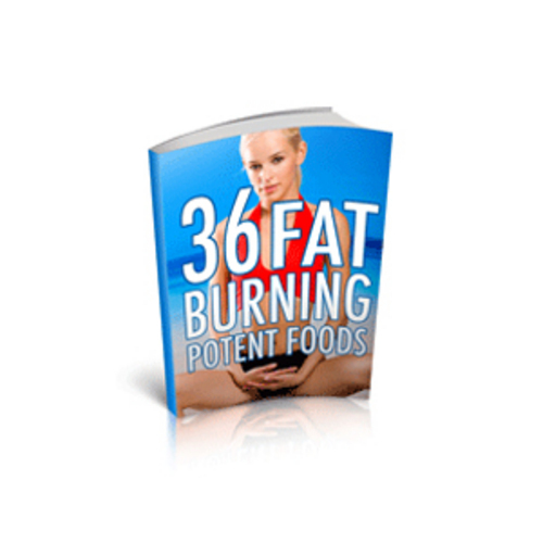 Pay for 36 Fat Burning Potent Foods  With PLR