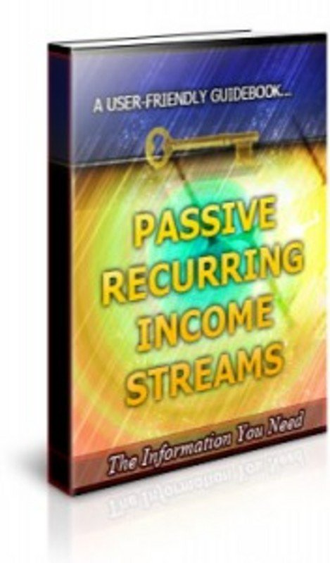 Pay for Passive Recurring Income Streams