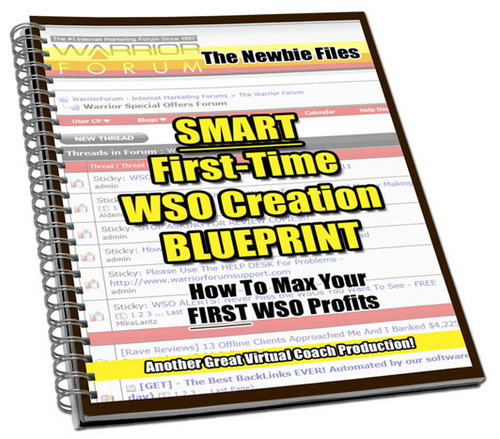 Pay for Download SMART First-Time WSO Creation BLUEPRINT