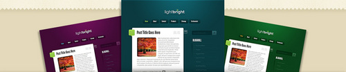 Pay for Download LightBright WordPress Theme