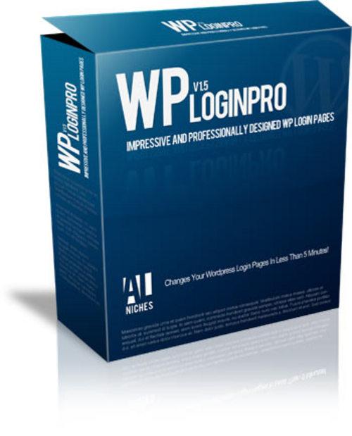 Pay for WP Login Pro - 20 Custom Designed Wordpress Login Pages