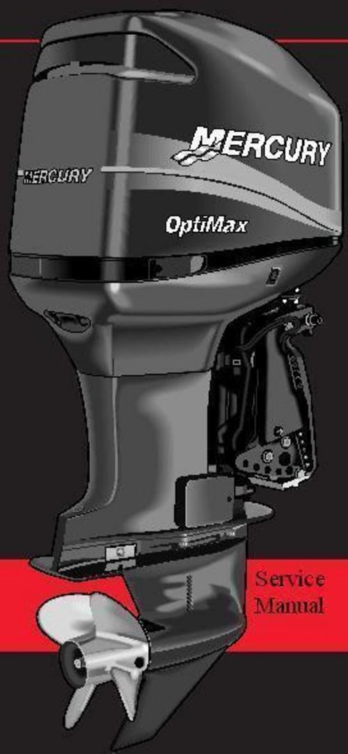 Mercury Mariner (outboard) 20 Jet-20-25 - 25 Marathon 25 Seapro Service  Manual