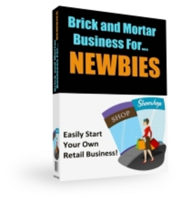 Pay for Brick and Mortar Business - Start your own retail business.