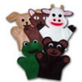 Thumbnail Animal Hand Puppets Sewing Patterns