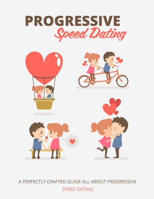 Pay for Progressive Speed Dating