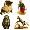 Thumbnail 75 Vintage Animal Grapics with PLR