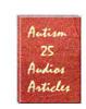 Thumbnail PLR 25 Autism Audio Articles