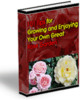 Thumbnail 101 Tips for Growing and Enjoying Your Own Great Rose Garden PLR