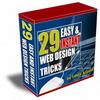 Thumbnail 29 Easy & Instant Web Design Tricks Volume 1 & 2