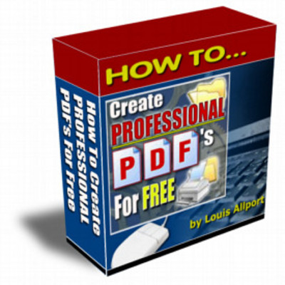 Pay for How To Create Professional PDF Files For FREE