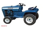 Thumbnail FORD Lawn Tractor garden LGT 100-195 Service Repair Manual