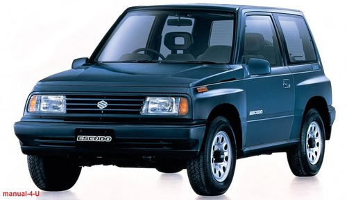 Pay for Suzuki VITARA ESCUDO Service Repair Manual 1988- 1998