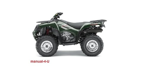 Free KAWASAKI BRUTE FORCE 750 KVF750 Service Repair Manual 2008 Download thumbnail