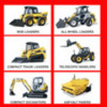 Thumbnail GEHL 680 All Wheel Steer Loader PARTS PART MANUAL