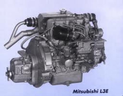 Mitsubishidieselenginel Al Cl El Al Cl Eserviceworkshopmanual on L3c Engine