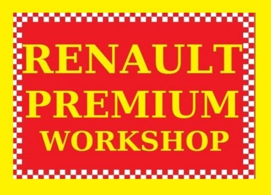 renault premium truck lorry truck service repair workshop