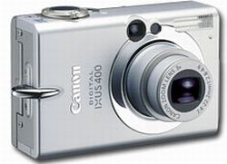 Thumbnail CANON PowerShot S 400 / IXUS 400 DIGITAL ELPH CAMERA  INSTRUCTION MANUAL