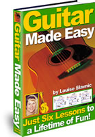 Thumbnail eBook: Learn  How to Play Guitar the Easy Way..