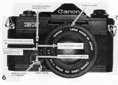 Thumbnail Canon EF / E-F CAMERA REPAIR MANUAL