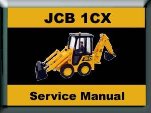 Pay for JCB 1CX/ 208S BACKHOE LOADER WORKSHOP SERVICE MANUAL