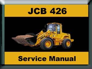 Pay for JCB 426 WHEELED LOADER WORKSHOP SERVICE / REPAIR MANUAL