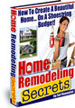 Thumbnail PROFESSIONAL HOME REMODELING SECRETS REVEALED..