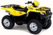 Thumbnail 2005 SUZUKI LT-A700X XK5 King Quad ATV Service Manual