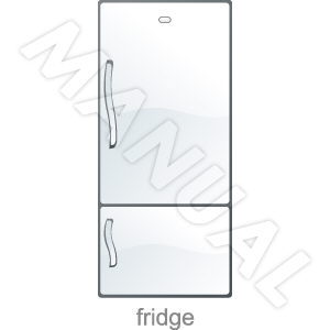 Thumbnail Daewoo ERF 310A Refrigerator REPAIR Manual