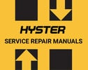 Thumbnail Hyster C114 E25XL E30XL E35XL Repair & Parts Manual