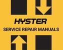 Thumbnail HYSTER D118 R30E / EA / EF FORKLIFT REPAIR & Parts Manual