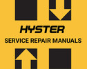 Thumbnail HYSTER E135 W60XT W80XT FORKLIFT REPAIR + PARTS MANUAL