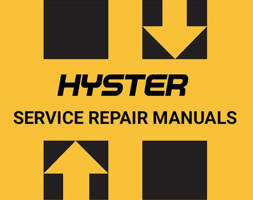 Hyster manual best repair manual download free hyster n30xmh2 c210 forklift service repair manual download fandeluxe Choice Image