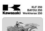 Thumbnail KAWASAKI KLF 250 2003 SERVICE Motorcycle MANUAL Download