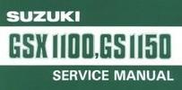 Thumbnail SUZUKI GSX 1100 - GS 1150 SERVICE Repair MANUAL Download