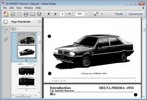 Thumbnail Lancia Delta - Prisma 4WD Service Workshop Repair Manual