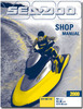 Thumbnail 2000 SeaDoo RX (5513), RX DI (5646), GTX DI (5649) Manual