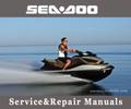 Thumbnail 2001 SeaDoo GS, GTS, GTI, GTX, GTX RFI, GTX DI, RX Manual